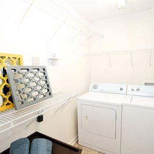 Model unit washing room